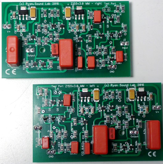 Z155 MM Moving Magnet Plug-In Phono Boards